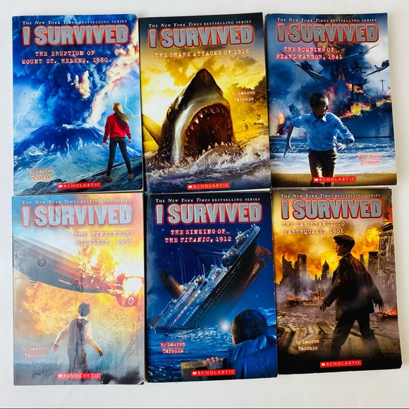 I Survived Series Lauren Tarshis 6 Paperback Books